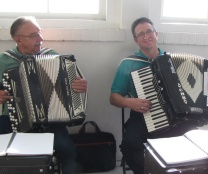 Dick Sadar and Chris Rouse provide music