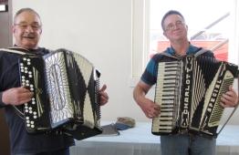 Dick Sadar and Chris Rouse entertain us