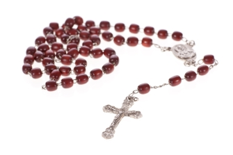 We recite the Rosary before the 9:00 am Mass on Sunday