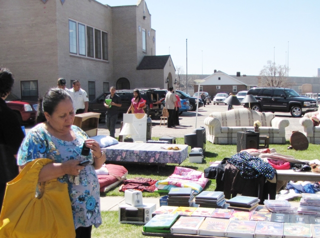 Find a treasure at the yard sale August 17 & 18