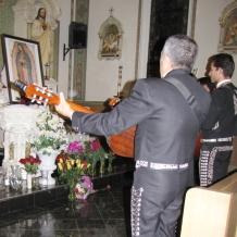 Serenading the Virgin