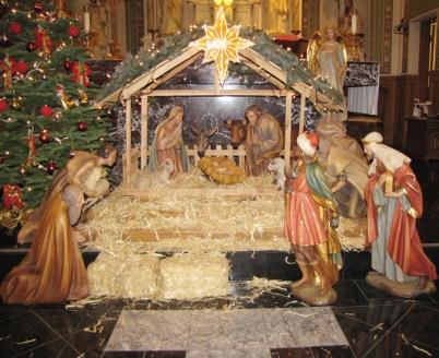 Our beautiful nativity set