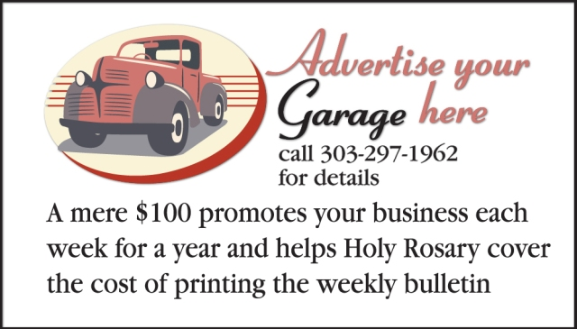 This could be an ad for your business!