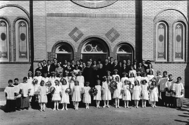 Holy Rosary celebrates 94 years - the church was dedicated on July 4, 1920