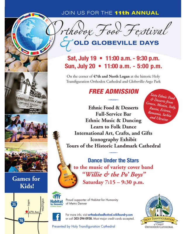 Orthodox Food Festival and Old Globeville Days