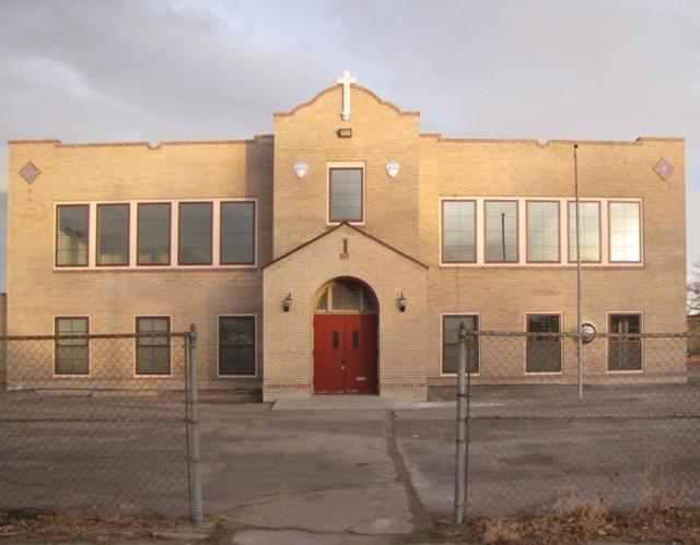 el centro parroquial