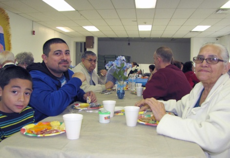 Some of the large Carrillo family