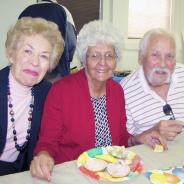 LaVerne, Margie and Bob