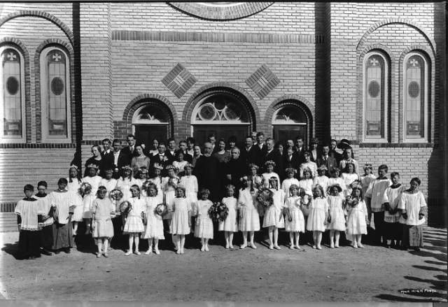 Holy Rosary Church celebrates 95 years - dedicated July 4, 1920