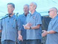 A capella 78 RPMs sang classic tunes and gospel