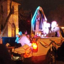 Procession along 47th Avenue