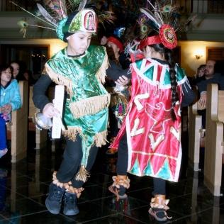 Tepeyac dancers honor the Virgin