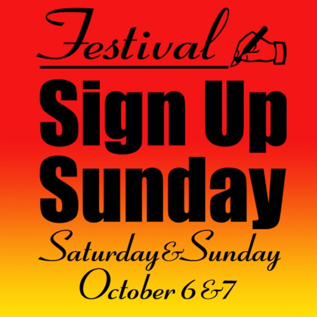 Sign event