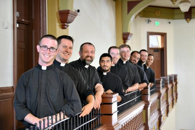 Seminarians at Centro San Juan Diego