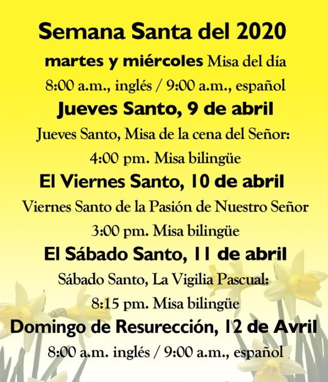 EasterSpanish2020